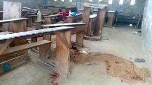 فصل كومبا في الكاميرون، 24 أكتوبر / تشرين الأو ، مكان وقوع  الهجوم على أطفال تتراوح أعمارهم بين 9 و 12 سنة.