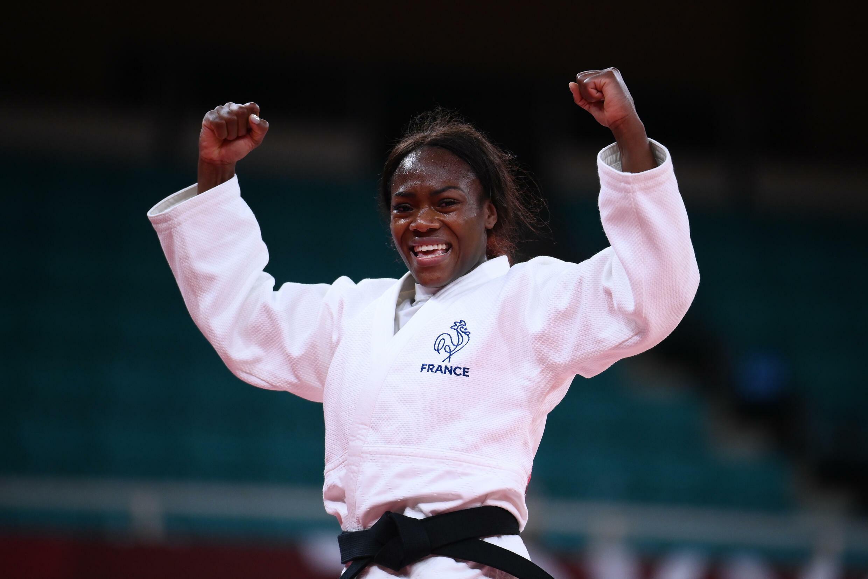 La judoka Clarisse Agbégnénou sacrée championne olympique en -63 kg aux Jeux de Tokyo, le 27 juillet 2021