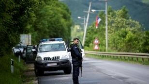 Members of the Kosovo Police Special Unit met armed resistance during early morning raids north Mitrovica