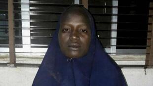 Capture d'écran d'une vidéo de propagande publiée par Boko Haram en mai 2014 et montrant les lycéennes enlevées.