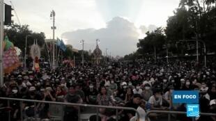 En Foco - Mnifestantes Tailandia