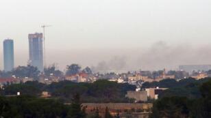 L'aéroport de Mitiga, près de Tripoli, avait déjà été attaqué en novembre 2015.