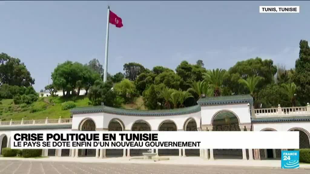 2021-10-11 12:01 Crise politique en Tunisie : le pays se dote d'un nouveau gouvernement