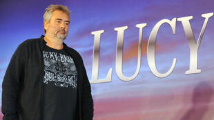 Luc Besson at a 2013 press conference in Taipei, Taiwan