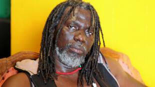 Le chanteur ivoirien Tiken Jah Fakoly à Bamako, au Mali, en 2014.