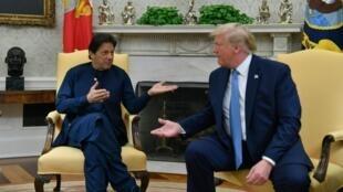 Donald Trump a reçu lundi 22 juillet 2019 le Premier ministre pakistanais à la Maison Blanche.