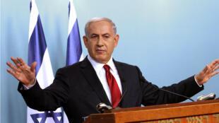 Le Premier ministre israélien Benjamin Netanyahou, le 18 novembre 2014 à Jérusalem.
