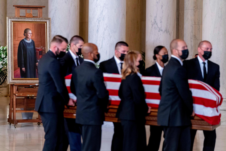 ginsburg - casket