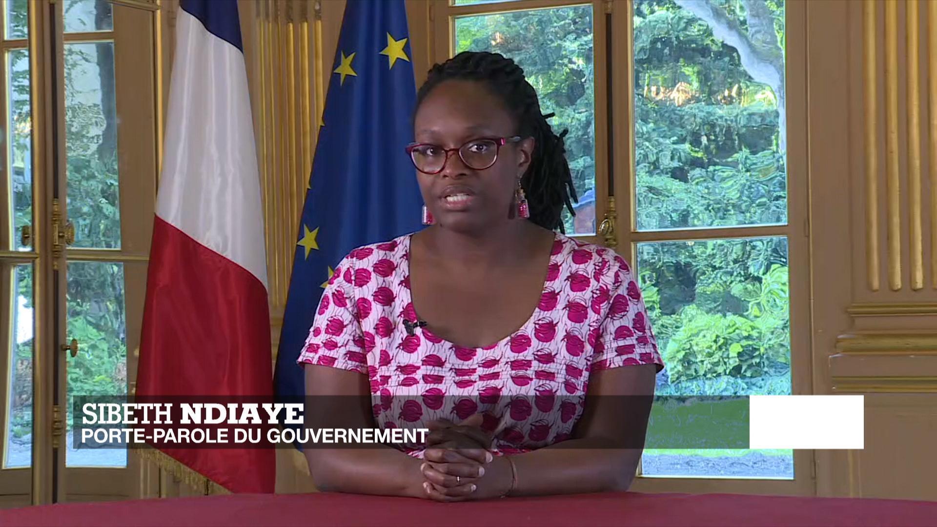 La porte-parole du gouvernement, Sibeth Ndiaye