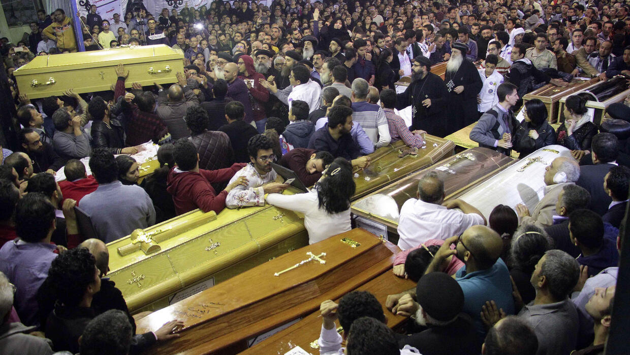 Image result for Egypt executes eight men over church bombings