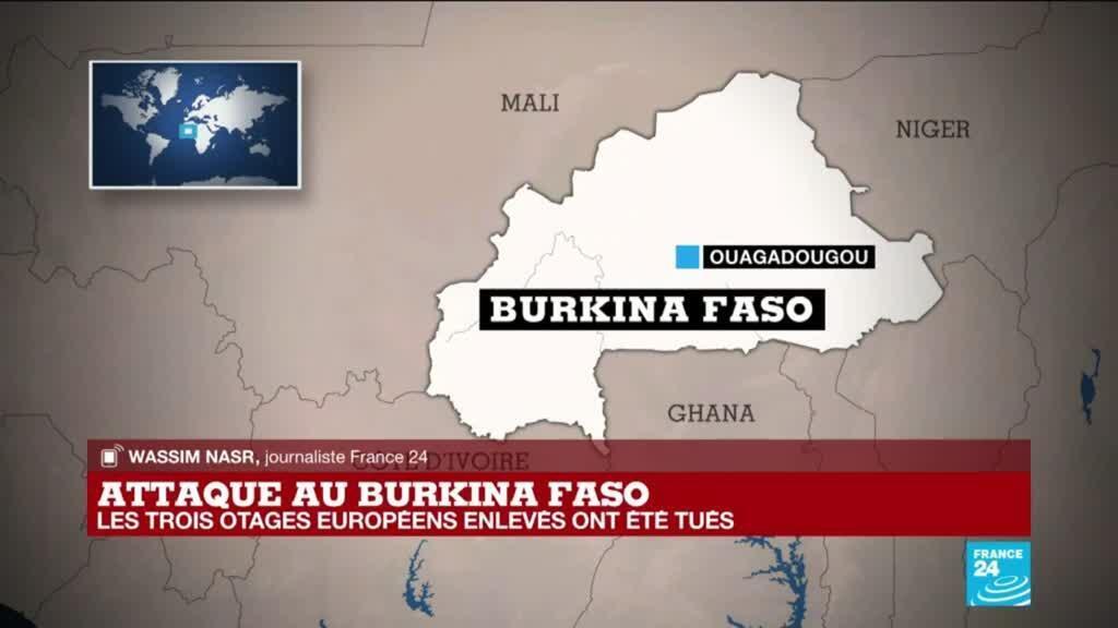2021-04-27 14:01 Attaque au Burkina Faso : les trois otages étrangers enlevés ont été tués