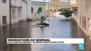 2020-09-09 14:07 Le Sénégal active une aide d'urgence après des inondations ayant fait 6 morts