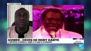 2020-05-22 14:21 Le célèbre chanteur et musicien guinéen Mory Kanté est décédé à 70 ans