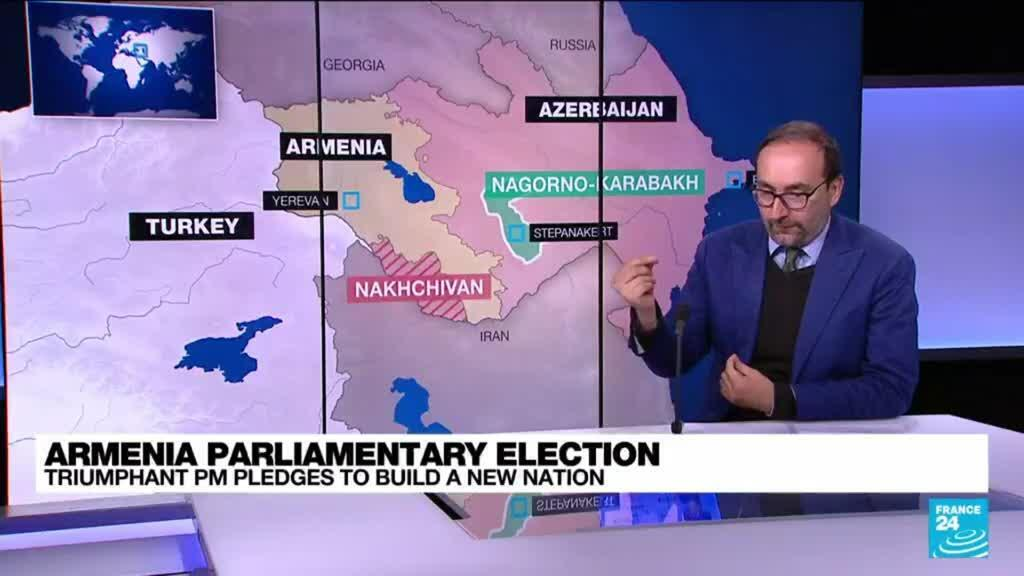 2021-06-22 11:03 Armenian PM holds power, cements authority despite military defeat