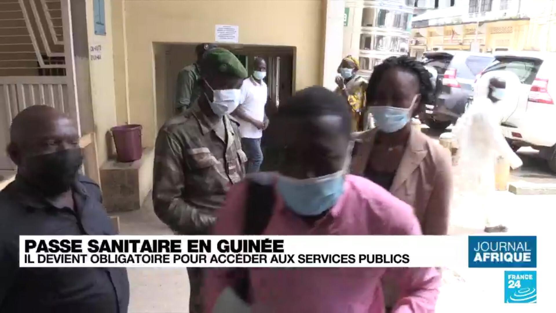 Passe sanitaire en Guinée : il devient obligatoire pour accéder aux services publics