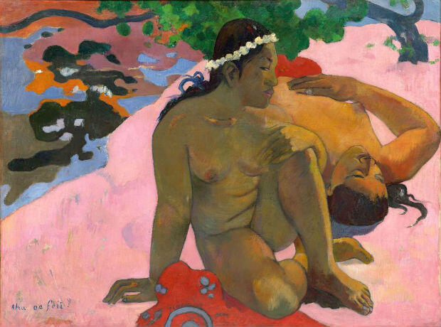 By Paul Gauguin