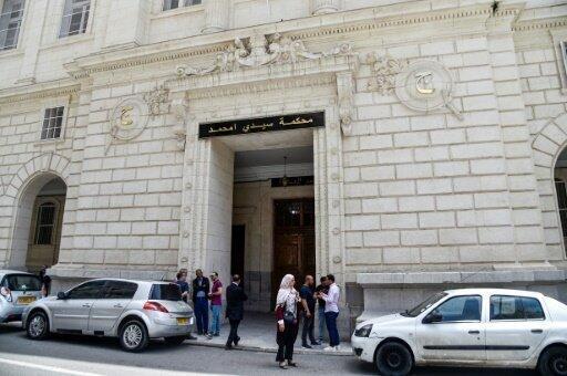 محكمة سيدي امحمد في العاصمة الجزائرية، في 10 يونيو/حزيران 2019