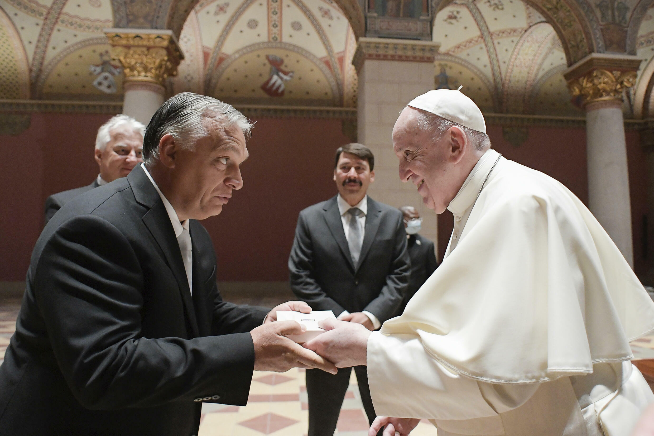Orban and Pope Francis