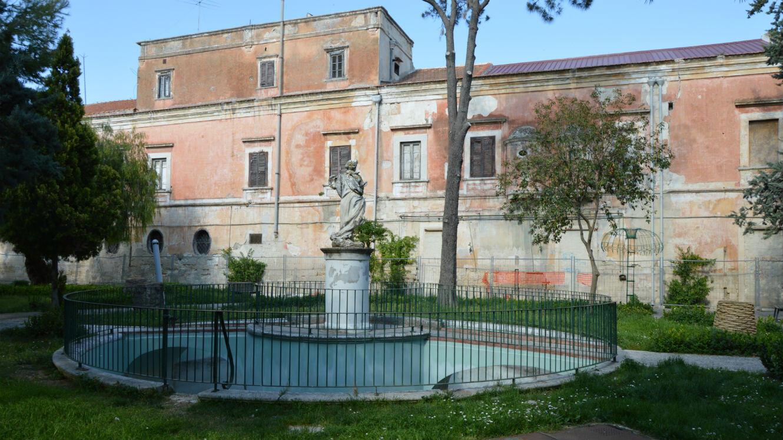 La Villa Bonelli, à Fiosele en Italie.