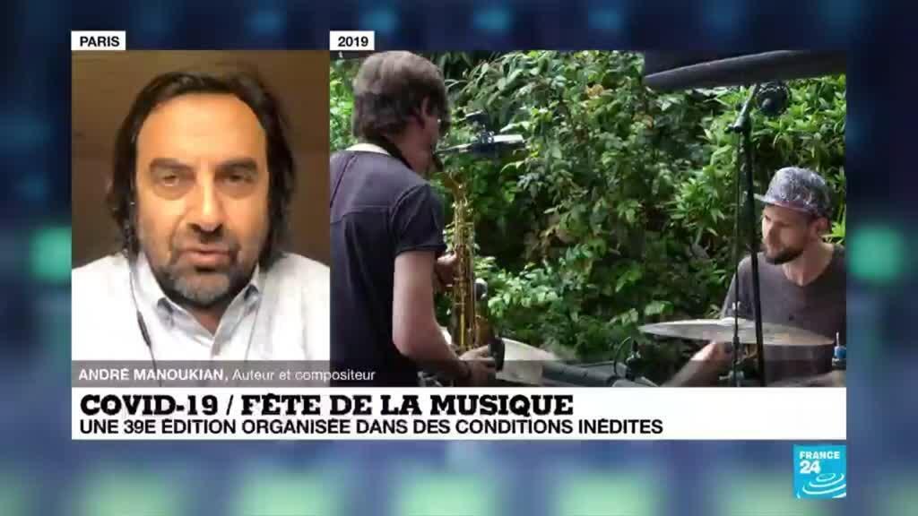 """2020-06-21 11:08 Fête de la musique : """"Devenir musicien aujourd'hui, c'est un acte militant"""", pour André Manoukian"""