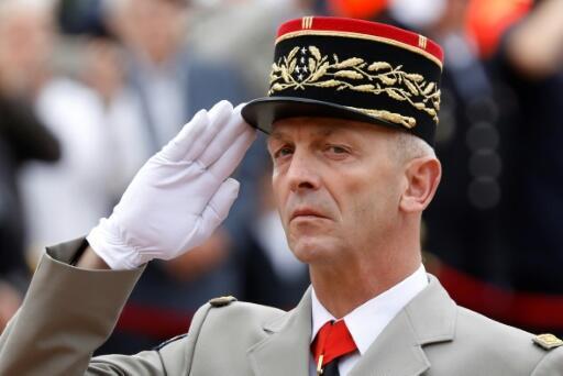 Le chef d'état-major des armées, le général François Lecointre, le 18 juin 2018 à Suresnes en France.