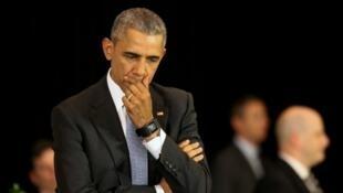 الرئيس الأمريكي المنتهية ولايته باراك أوباما