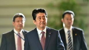 رئيس الحكومة الياباني شينزو آبي