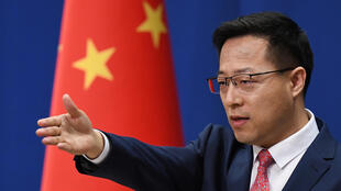 China's foreign ministry spokesman Zhao Lijian called for US cooperation on the pandemic
