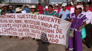 Indigenous Panamanians have protested against mining projects in the country, claiming they damage the environment