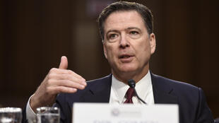 L'ex-chef du FBI James Comey lors de son audition devant la commission du Renseignement du Sénat, le 8 juin 2017.