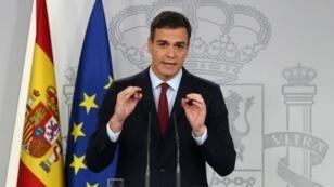رئيس الوزراء الإسباني بيدرو سانشيز