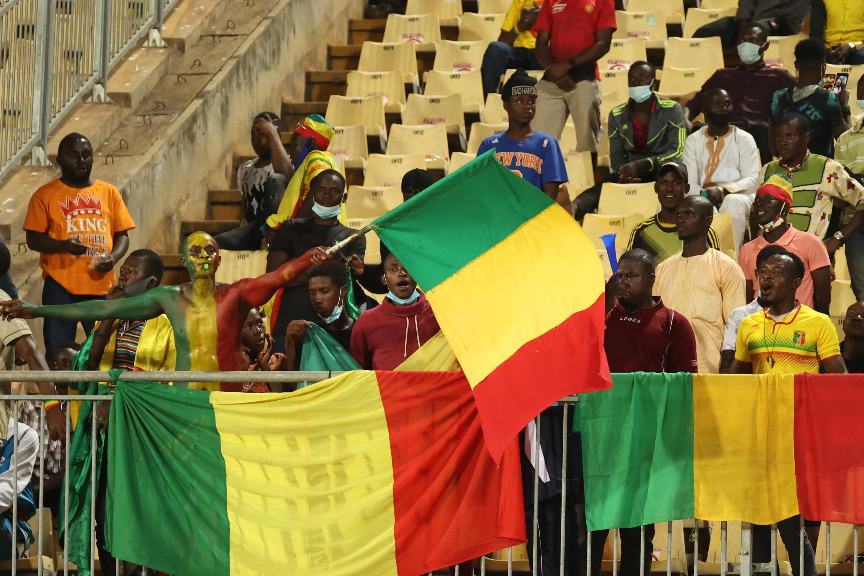 Les Maliens ont encouragé les Aigles jusqu'à la finale.