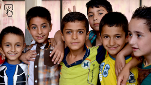 أطفال سوريون في مدارس لبنان