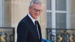 Le ministre de l'Economie Bruno le Maire, le 27 mai 2020 à Paris