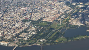 © AFP | A bird's eye view of Washington, DC, USA.