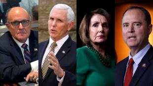El abogado del presidente Donald Trump, Rudy Giuliani, y el vicepresidente estadounidense, Mike Pence, se negaron a cooperar con la investigación adelantada por los demócratas a la cabeza de Nancy Pelosi.