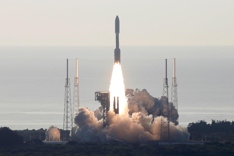 """عملية إطلاق المسبار الأمريكي """"برسفيرنس"""" باتجاه كوكب المريخ"""