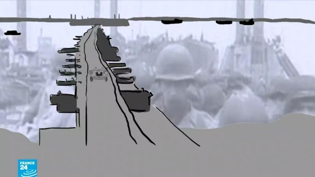 فيديو - إنزال نورماندي 1944: الحلفاء بنوا ميناء اصطناعيا لعبور القوات والمعدات القتالية عبر بحر المانش
