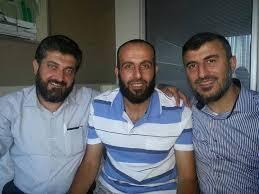 عبد القادر الصالح مع قائدي جيش الإسلام وصقور الشام - 2013/11/18