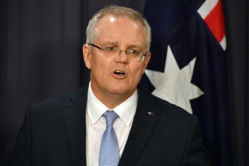 رئيس الوزراء الأسترالي سكوت موريسون