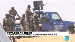 2019-12-12 13:47 Niger : Une attaque d'ampleur avec une conséquence diplomatique directe
