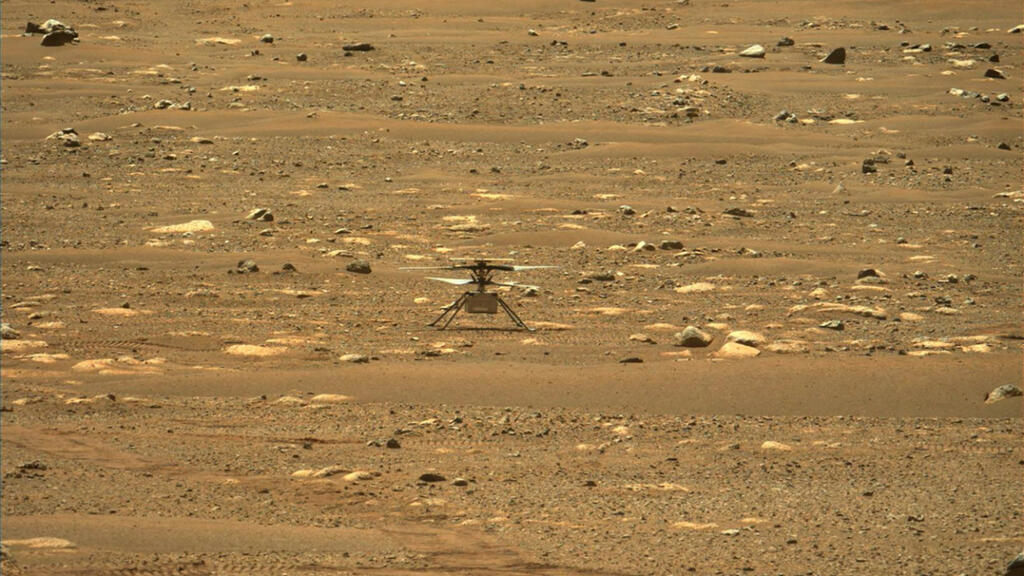 NASA helicopter makes history with successful flight on Mars