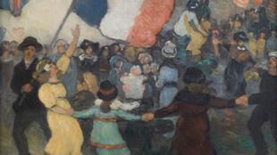 Une scène de l'armistice, 11 novembre 1918.