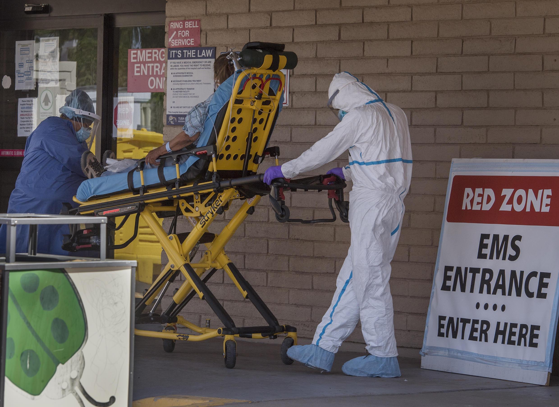 La pandemia de coronavirus ha causado la mayoría de las muertes en exceso en Estados Unidos en 2020, según los Centros para la Prevención y el Control de Enfermedades