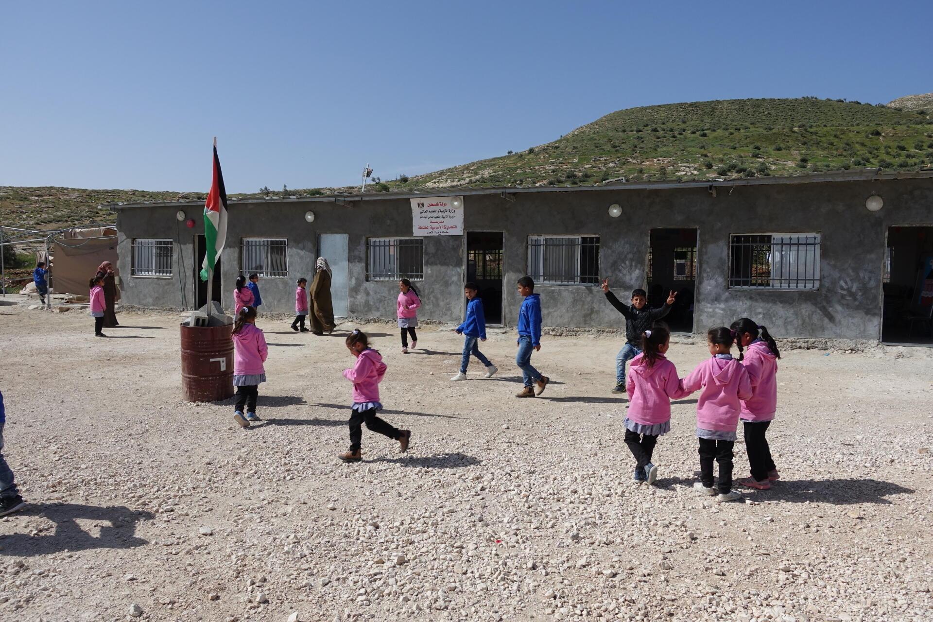 L'école de Jubbet-al-Dib