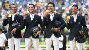 Les cavaliers français ont brillé lors du concours complet à Rio.