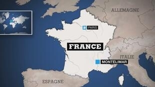 The earthquake struck in Montelimar, just before midday on Monday.