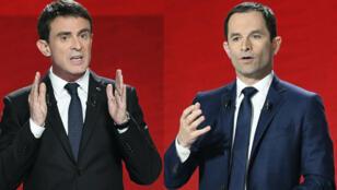 Les deux finalistes, Manuel Valls et Benoît Hamon, espèrent un niveau de participation proche de deux millions au second tour de la primaire à gauche.