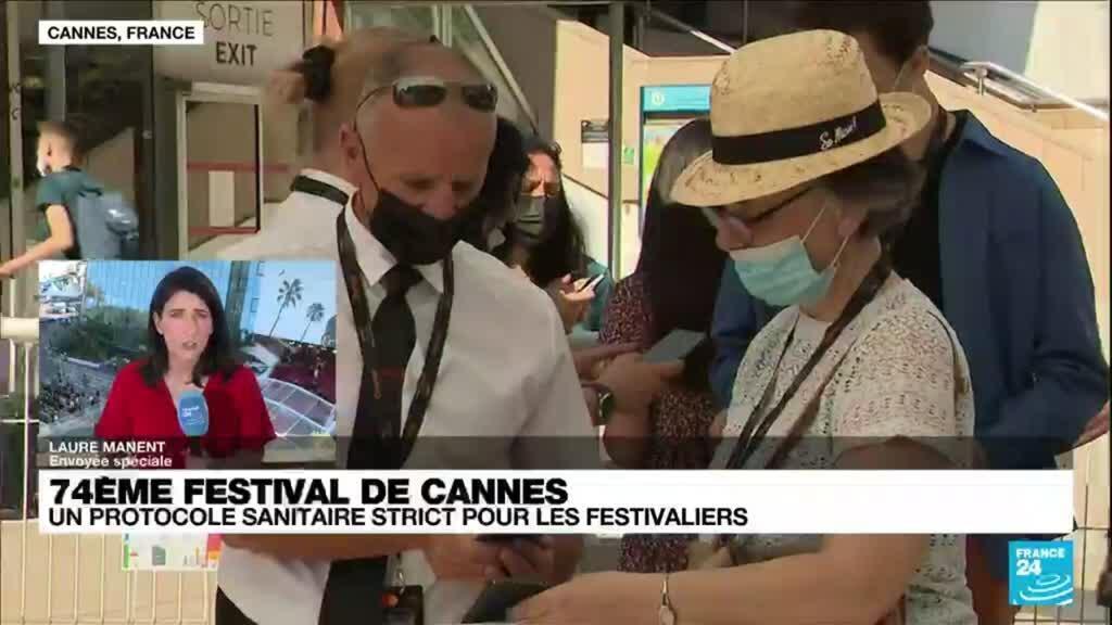 2021-07-09 18:20 Festival de Cannes : un protocole sanitaire strict pour les festivaliers