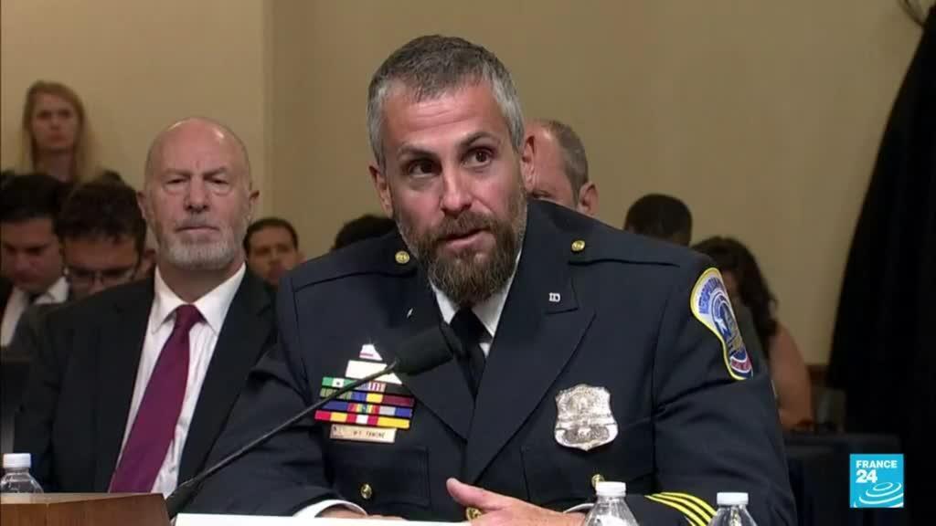 2021-07-28 04:01 EE. UU.: policías testificaron en audiencia de investigación sobre el asalto al Capitolio